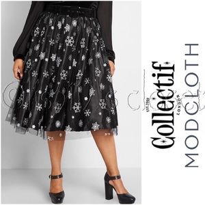 ModCloth x Collectif Tulle Lovely Midi Skirt 20 2X